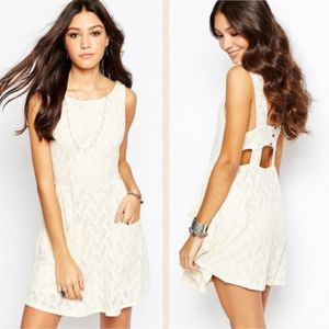 Free People | Lace Poppy Boho Dress